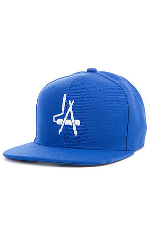 """LA Paintbrush"" Snapack - Royal Blue"