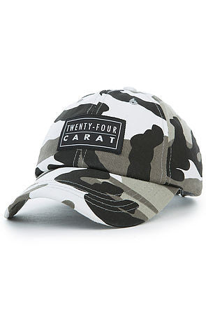 """Military"" Dad Cap - Black Camo"