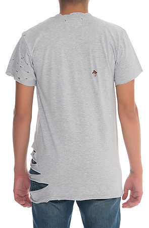 """Destroyed"" Tee - Heather Grey"
