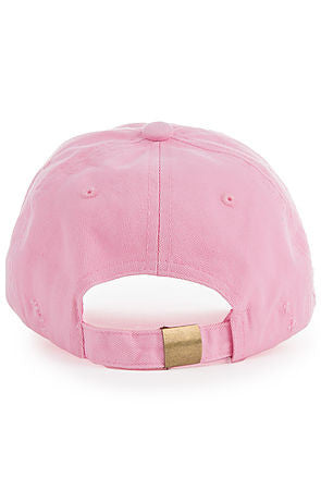 """Destroyed"" Dad Cap - Pink"