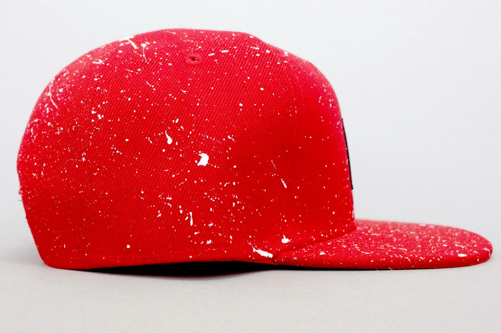 """Splatter"" Snapback - Red/White"