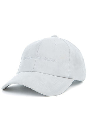 """Suede Tonal"" Dad Cap - Grey"
