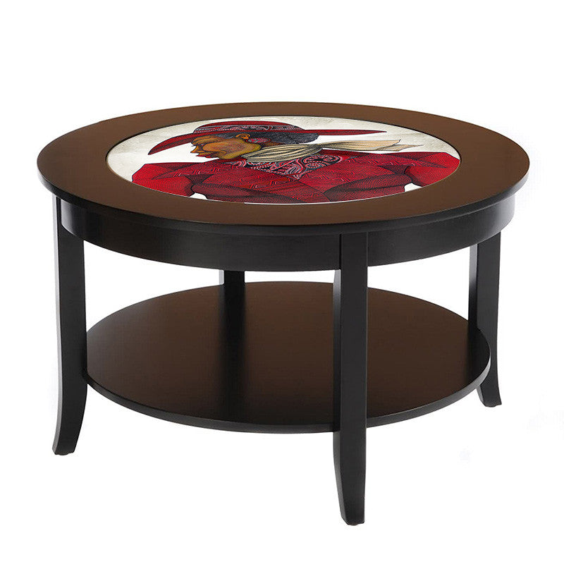 Ebony In Red ( Coffee Table ) - bibbsdesign.com