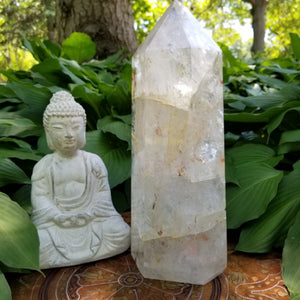 Crystal Quartz Large Tower - A