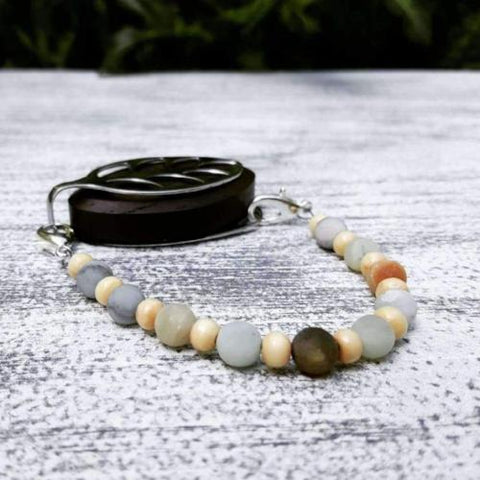 Daylight Amazonite Bellabeat Leaf Bracelet