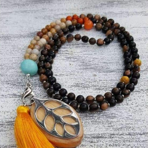 Grounding Earth Mala Necklace