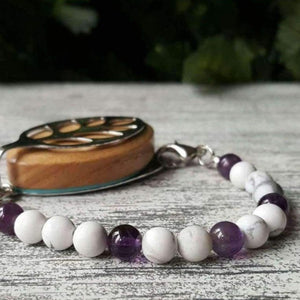 Peace Mala Bellabeat Leaf Bracelet