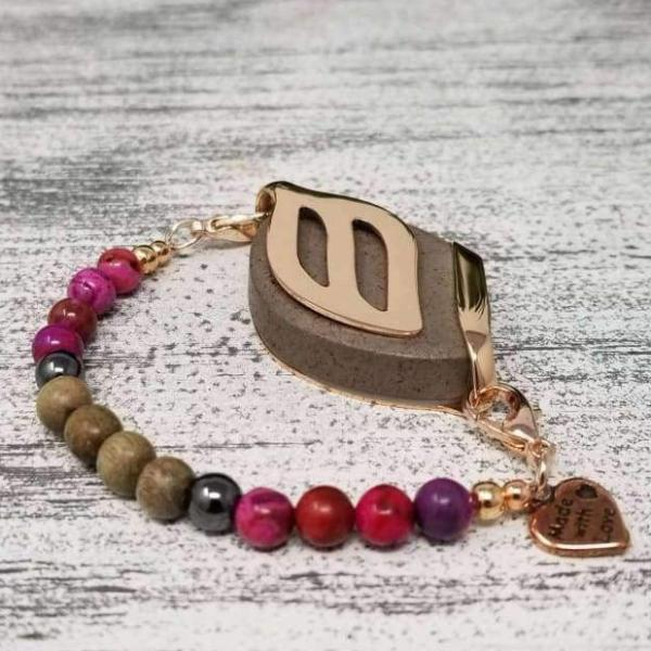 Strength Mala Bellabeat Leaf Bracelet