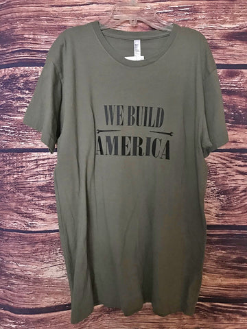 Army Green Spuds Up Tee