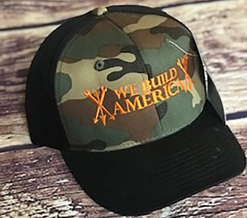 Camo Curved bill OG We Build America Snapback