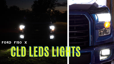 Ford F150 with the CLD LED Lights