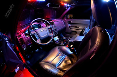 The Most Popular Colors in LED Lights for Car Interior