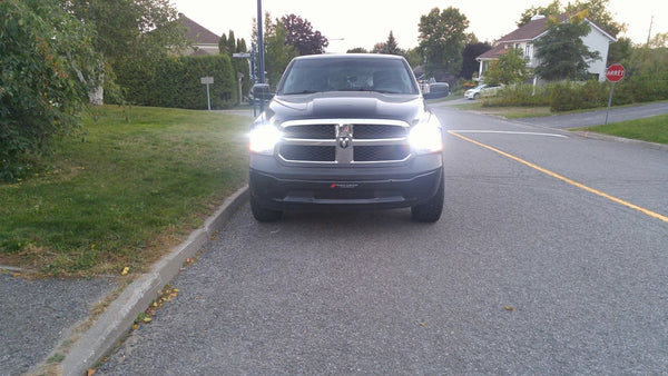 Dodge Ram LED Headlight Conversion
