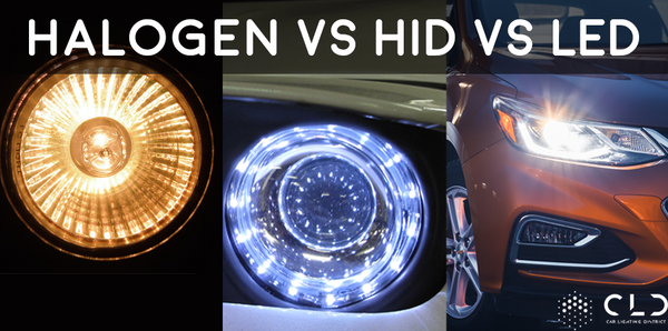 Halogen vs HID vs LED Headlights