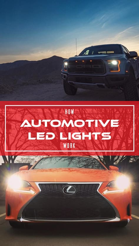 How Automotive LED Lights Work