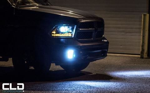 LED Headlights Fog Lights Installation