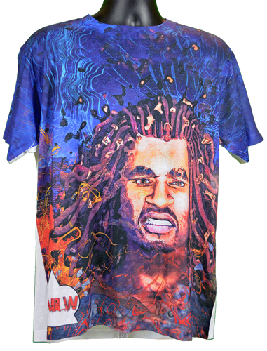 TShirt Sublimation Next Level World Urban Rasta