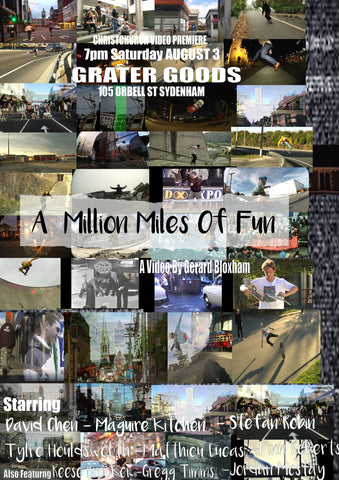 A Million Miles Of Fun (DVD+Digi)