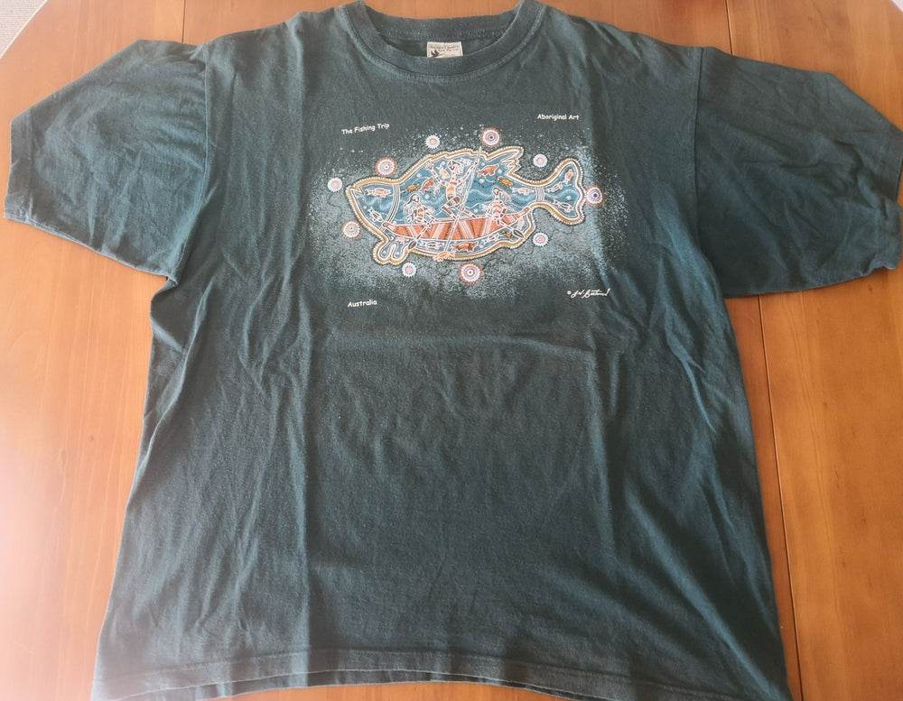 Aboriginal Fishing T-Shirt