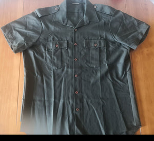 NOS 1980s NZ Army S/S Shirt