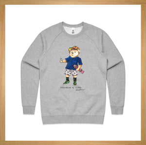 Yolo Bear Crew Neck