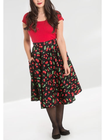 Sweetie 50's Skirt - Black