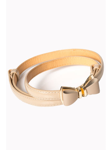 Ocean Avenue Belt - Nude