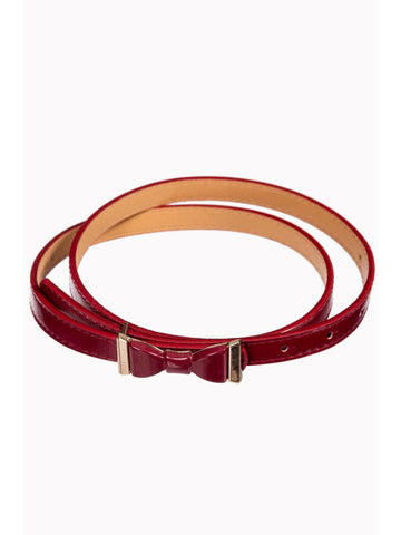 Summer Love Belt - Burgundy