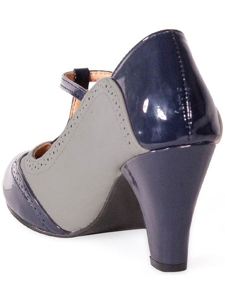 Diva Blues Heels - Grey
