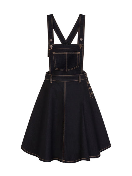 Dakota Pinafore - Denim