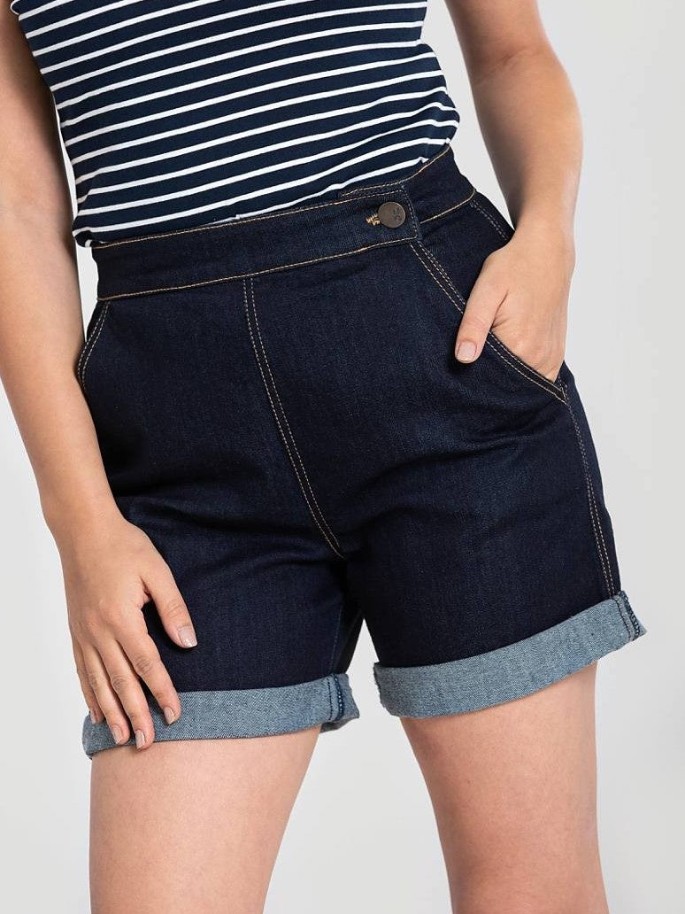 Yaz Shorts - Navy