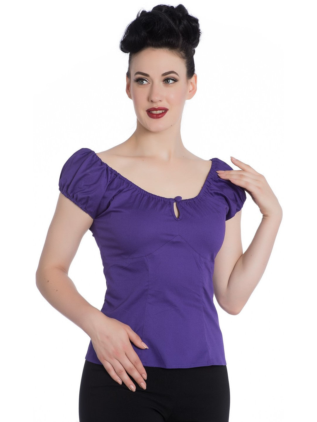 Melissa Top - Purple