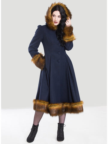 Robin Coat - Navy