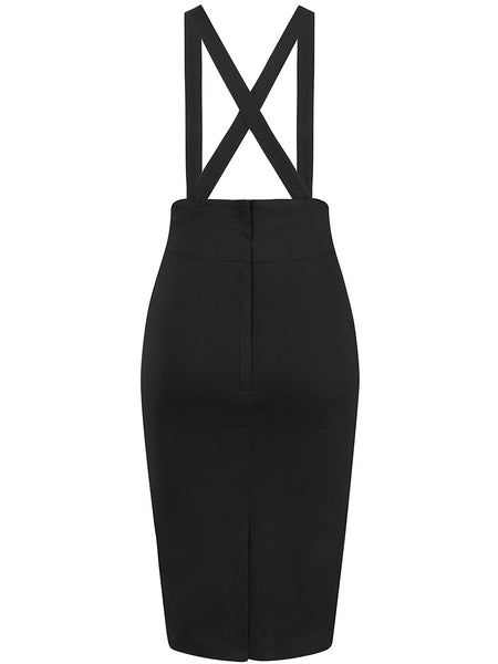 Alexa Pencil Skirt - Black
