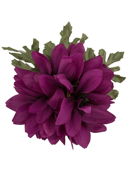 Claire Hair Flower - Purple
