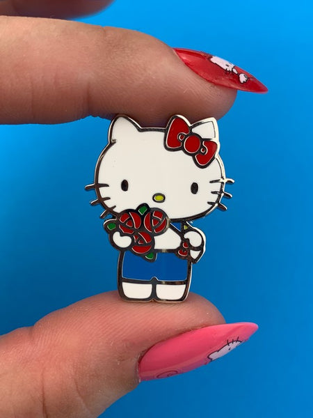 Hello Kitty Bouquet Enamel Pin
