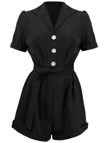 Pretty Playsuit - Black