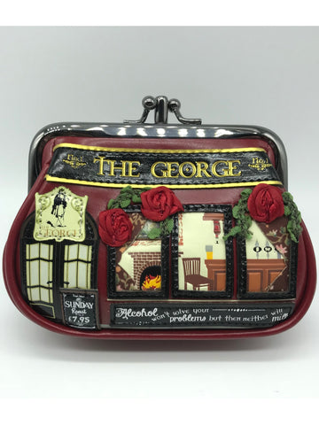 The George Double Clip Frame Purse