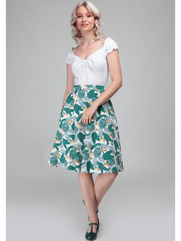 Mattie Swing Skirt - Paradise