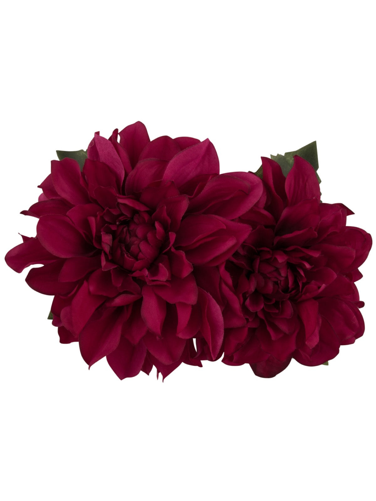 Samantha Hair Flower - Fuchsia
