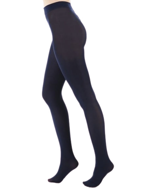 Navy Opaque Tights