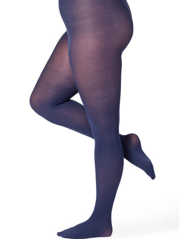 Midnight Curvy Figure Tights