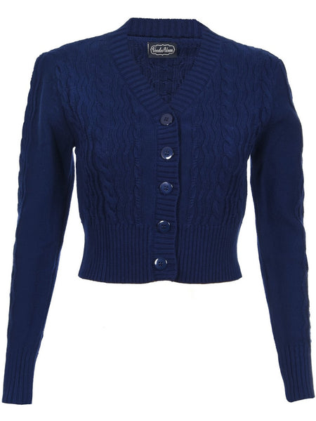 Mabel Cardigan - Navy
