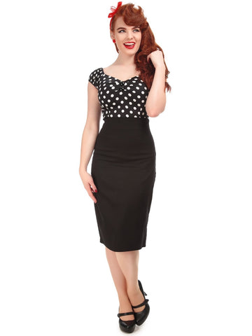 Fiona Pencil Skirt - Black
