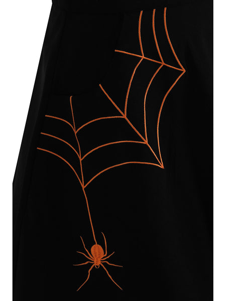 Miss Muffet Mini Skirt - Orange