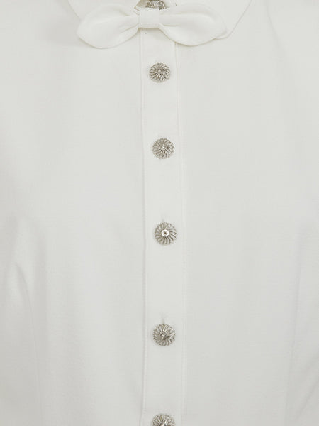 Judith 40's Blouse - Ivory