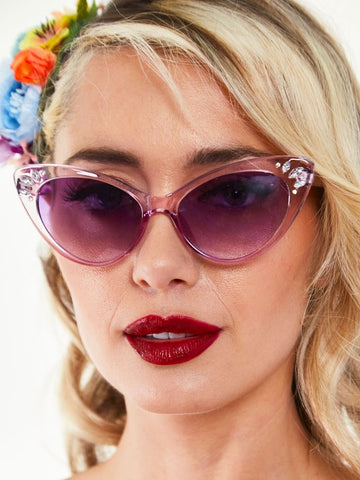 Kelly Gem Sunglasses - Periwinkle