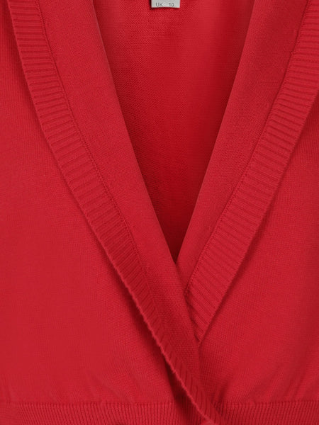 Loise Cardigan - Red