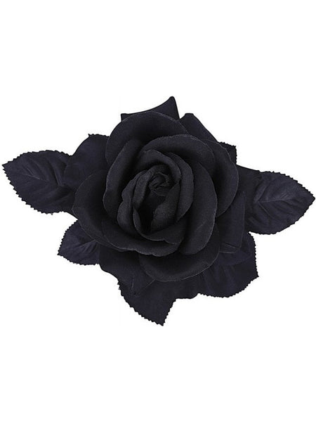 Loy Hair Flower - Black