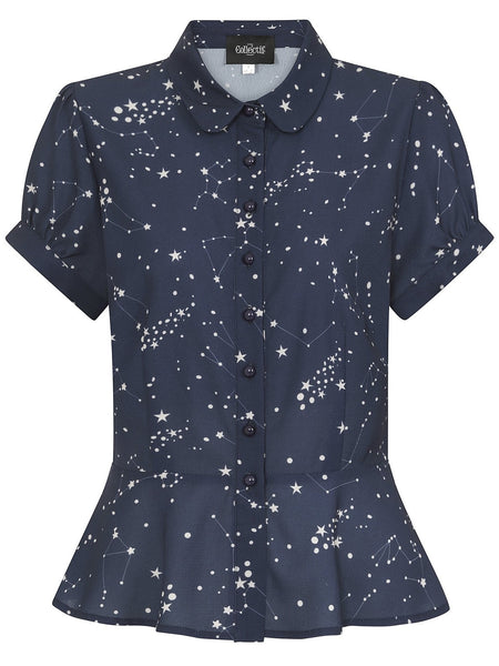 Mary Grace Blouse - Constellation